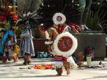 在洛杉矶阿兹台克人舞蹈家的奥尔维拉街 库存图片