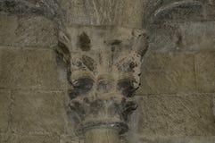 在洛阿雷城堡的资本  免版税库存图片