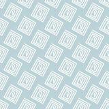 在浅兰的背景的简单的无缝的白色样式 免版税库存图片