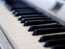在浪漫史的钢琴 库存图片