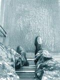 在海军的困难的日子 库存照片