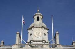 在海军部大厦的Clocktower 伦敦 英国 库存图片