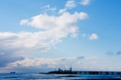在海口的蓝天 库存照片