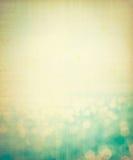 在海和海洋背景的抽象迷离光 免版税库存图片