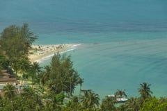 在海岛上的假期 库存图片