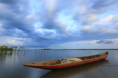 在海岛上的完善的夏天 图库摄影