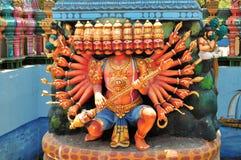 在海岛寺庙,斯里兰卡的印度寺庙 免版税库存照片