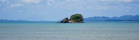 在海岛,泰国上的看法 图库摄影