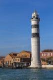 在海岛Murano上的灯塔 免版税库存图片