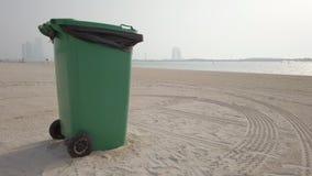 在海岸的干净的ENCIRONMENT 股票视频