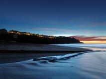 在海岸的抽象豪华 免版税库存照片