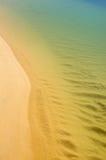 在海岸视图之上 图库摄影
