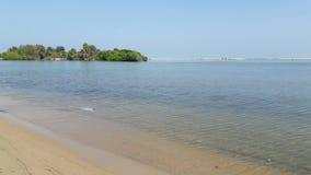 在海岸视图之上 免版税图库摄影