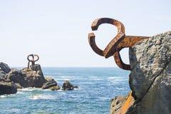 在海岸1的艺术 库存图片