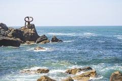 在海岸2的艺术 免版税库存照片