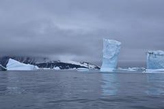 在海洋的冰 库存图片