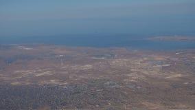 在海海岛的飞行,从飞机的看法