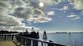 在海湾的一天 库存照片