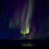 在海湾016的极光Borealis 免版税库存照片