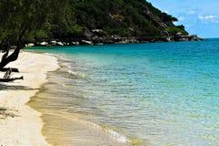 在海滩和海洋的夏天 库存图片