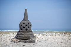 在海滩的传统 免版税图库摄影