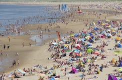 在海滩的夏天 图库摄影