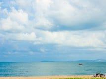 在海滩的夏天 免版税库存照片