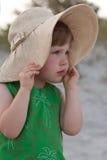 在海滩的晴天 免版税图库摄影