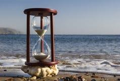在海滩的沙子玻璃,红海 免版税库存图片