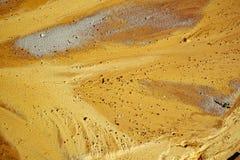 在海滩的沙子纹理 图库摄影