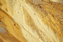 在海滩的沙子纹理 库存照片