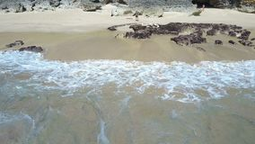 在海滩的鸟瞰图 巴厘岛 海洋 影视素材