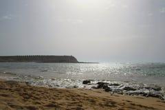 在海的下午在撒丁岛 库存图片