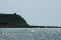 在海的下午在撒丁岛 图库摄影