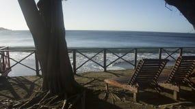 在海的宁静 库存照片