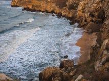 在海的海湾 免版税库存照片