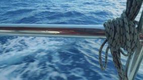 在海的看法通过航行游艇仔猪栏  股票录像