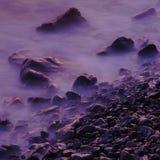 在海的石头 免版税库存照片