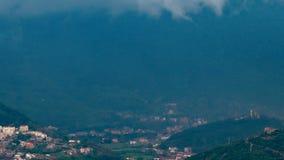 在海的雨在黑山 影视素材