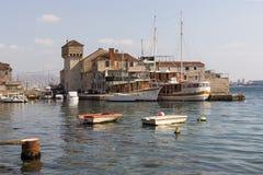 在海的Castel 免版税图库摄影