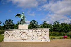 在海纪念碑和纪念品,哥本哈根丹麦的Søfartsmonumentet 库存图片