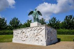 在海纪念碑和纪念品,哥本哈根丹麦的Søfartsmonumentet 图库摄影