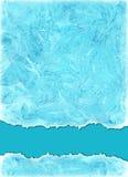 在海蓝色颜色的水彩背景 图库摄影