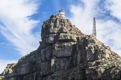在海角点,南非灯塔的看法  库存照片