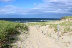 在海角的海滩 库存图片