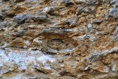 在海角Meganom的岩石 图库摄影