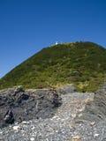 在海角Muroto的灯塔 图库摄影
