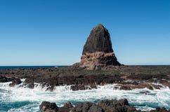 在海角Schanck的讲坛岩石 图库摄影
