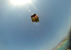 在海跳跃炸弹 免版税库存图片