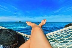在海运的节假日 图库摄影